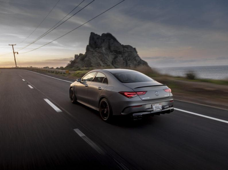 2021 Mercedes-AMG CLA 45 Coupe Luxury